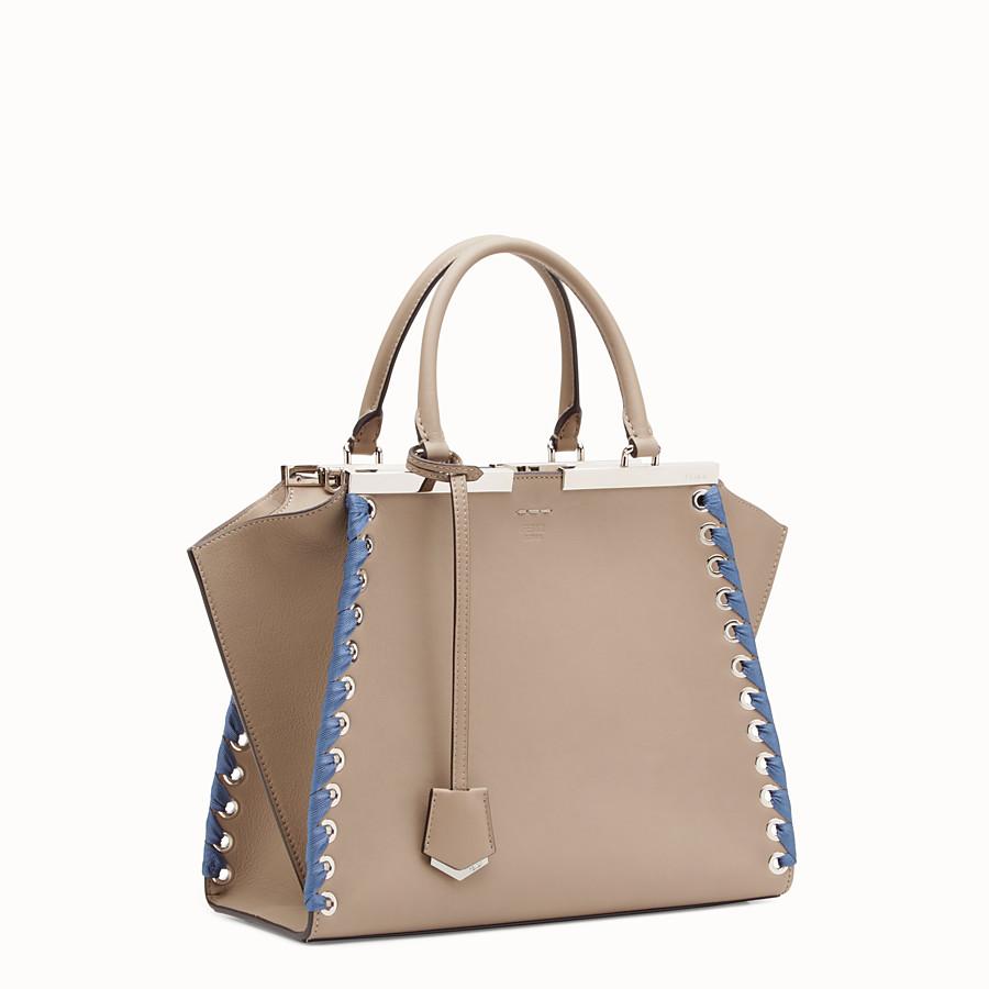 FENDI 3JOURS - Beige leather bag - view 2 detail
