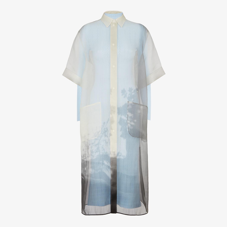 FENDI DRESS - White organza dress - view 1 detail