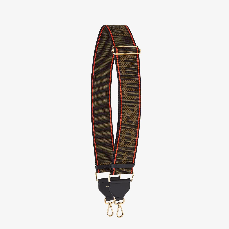 FENDI STRAP YOU - Green ribbon shoulder strap - view 1 detail