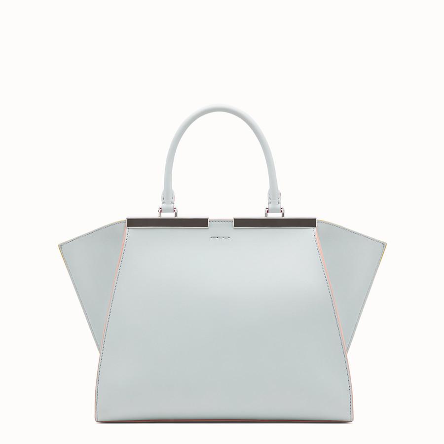 FENDI 3JOURS - Grey leather bag - view 3 detail
