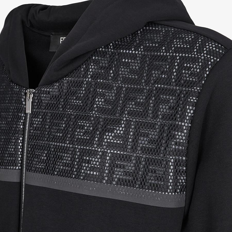 FENDI SWEATSHIRT - Sweatshirt aus Jersey in Schwarz - view 3 detail