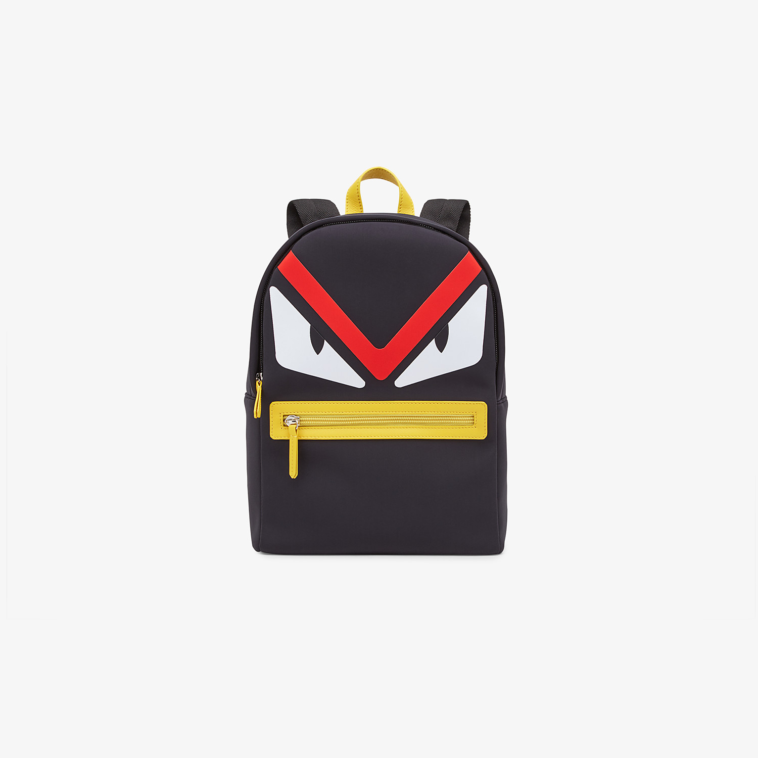FENDI BABY BACKPACK - Black and yellow backpack - view 1 detail