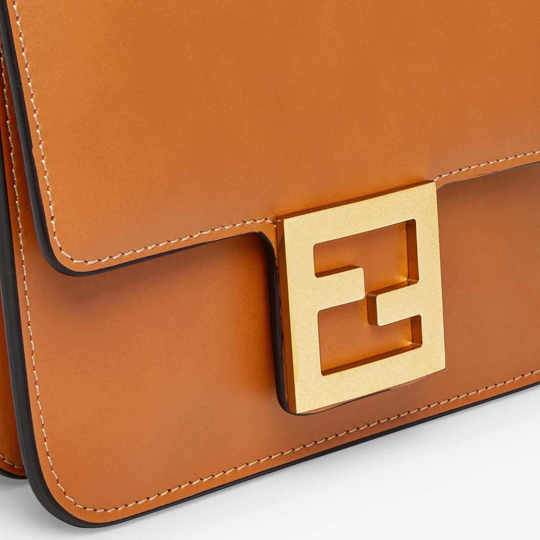 FENDI FENDI FAB - Brown leather bag - view 5 detail