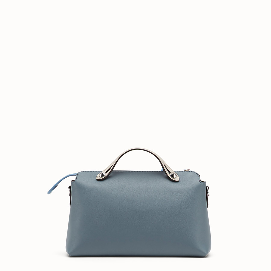 FENDI BY THE WAY REGULAR - Sac Boston en cuir bleu - view 3 detail