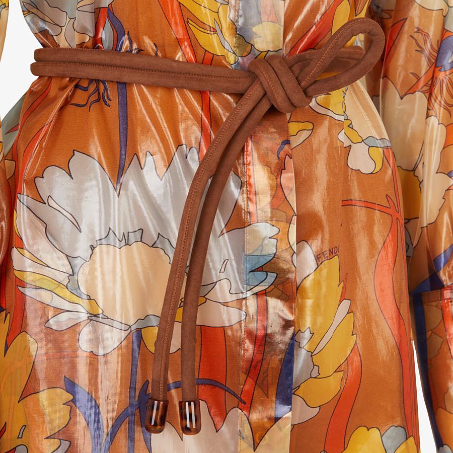 FENDI DRESS - Multicolour nylon dress - view 3 detail