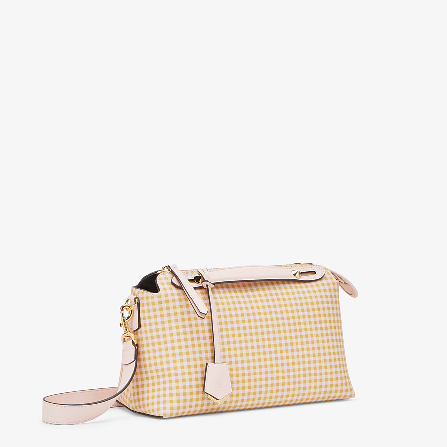 FENDI BY THE WAY MEDIUM - Pink leather Boston bag - view 2 detail