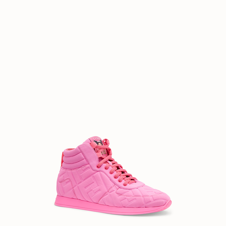 FENDI SNEAKER - High top Fendi Prints On in Lycra® - vista 2 dettaglio