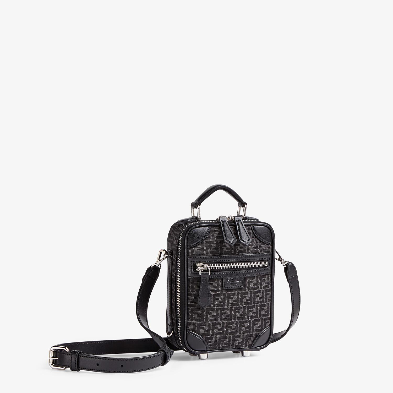 FENDI TRAVEL MINI BAG - FF jacquard fabric bag - view 2 detail