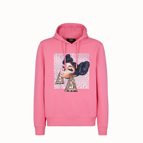 FENDI SWEATSHIRT - Fendi Prints On jersey sweatshirt - view 1 small thumbnail