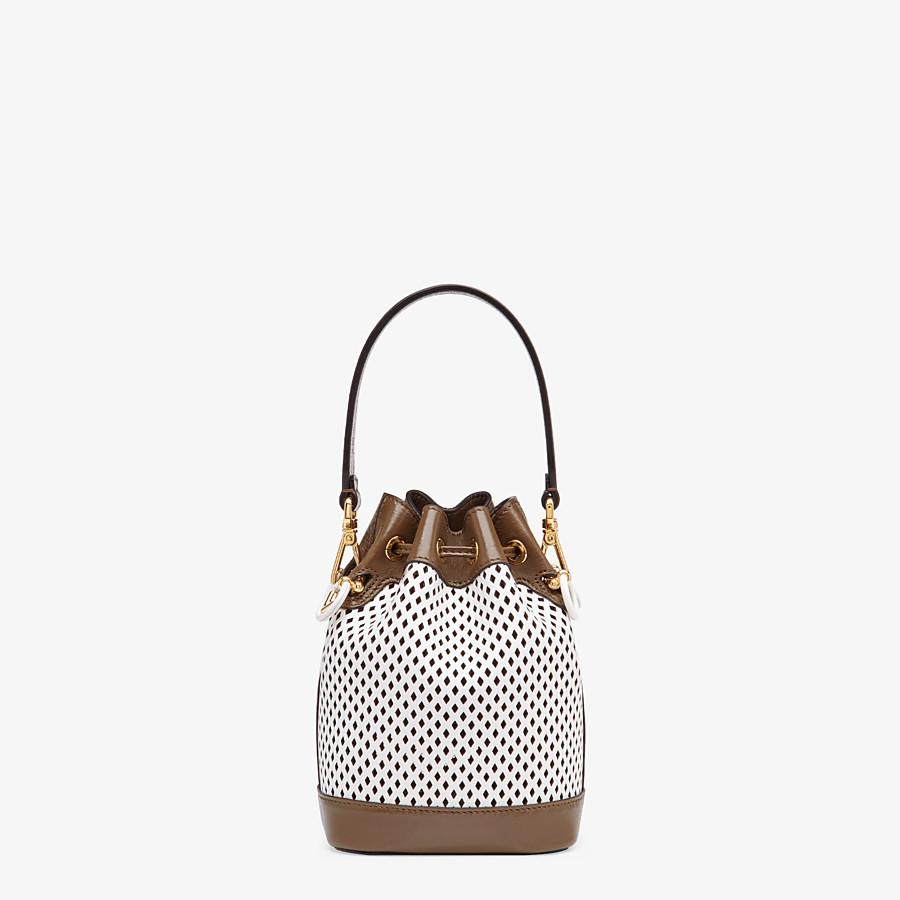 FENDI MON TRESOR - White leather mini-bag - view 4 detail