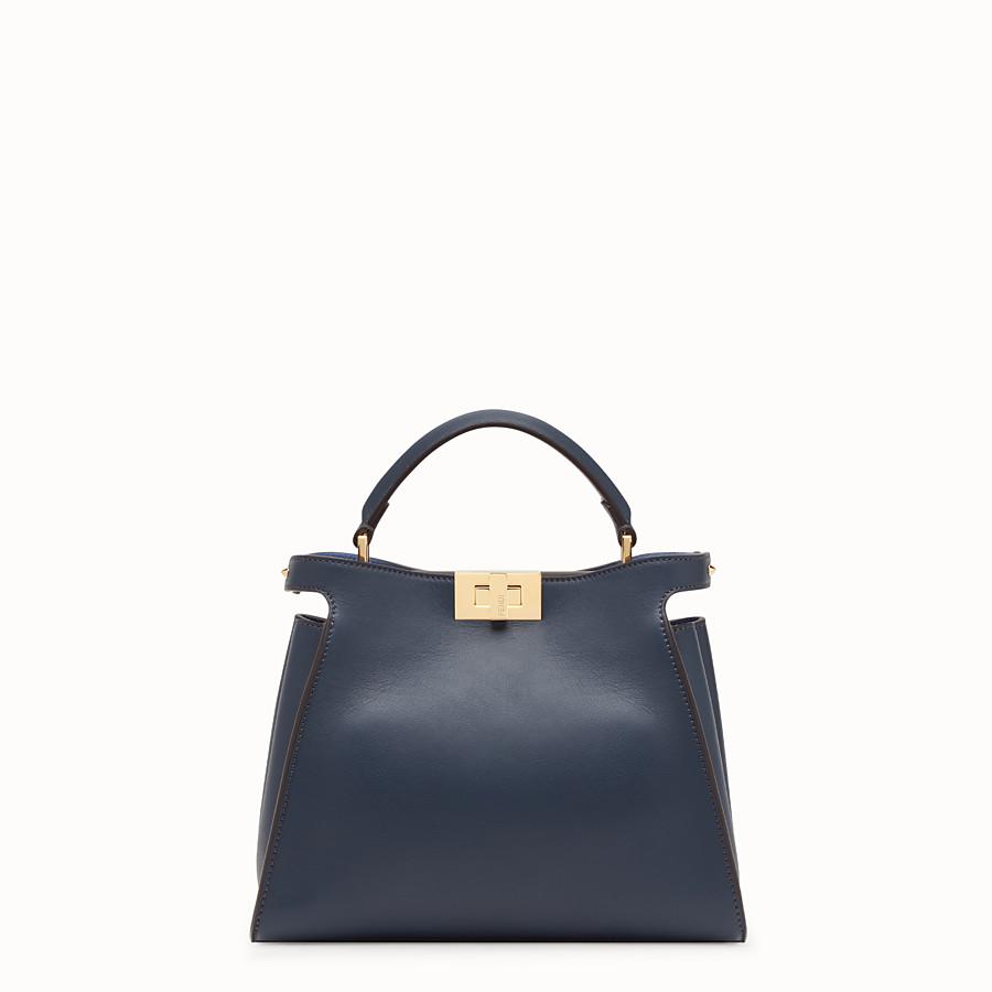 Blue leather bag - PEEKABOO ESSENTIALLY