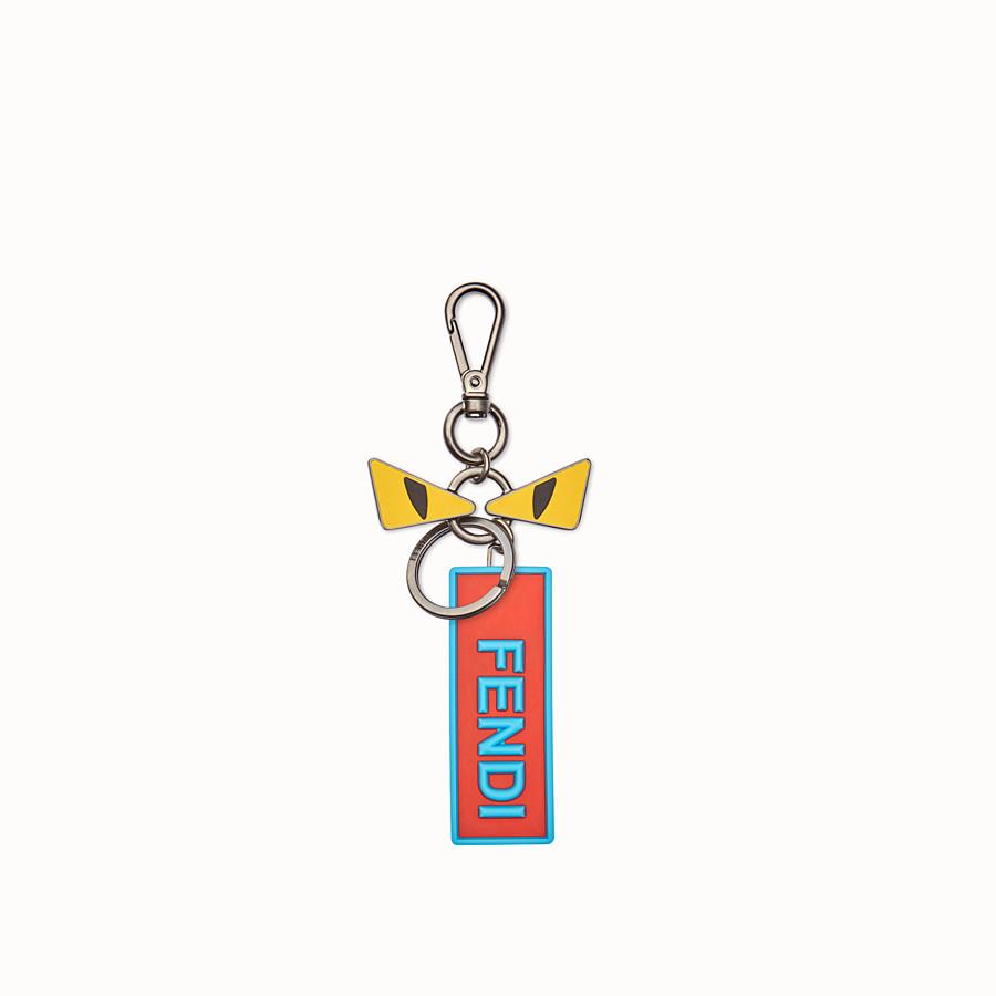 FENDI 手袋吊飾 - 裝飾眼睛和飾牌的鑰匙圈 - view 1 detail