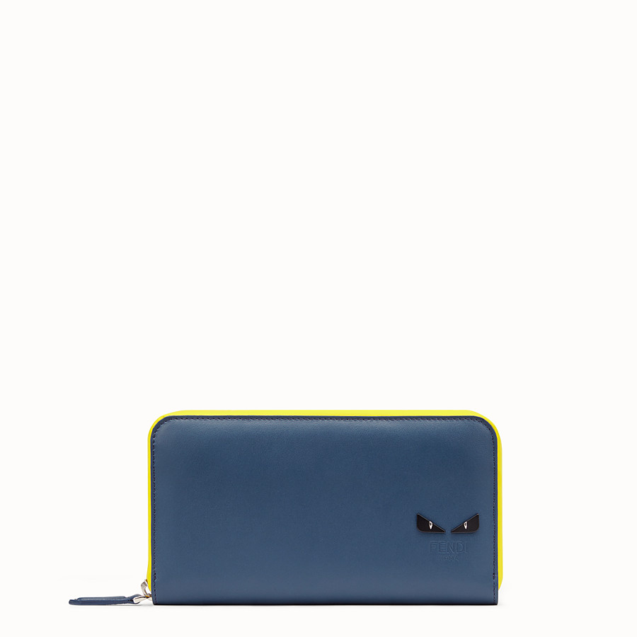 FENDI ZIP-AROUND - Multicolor leather wallet - view 1 detail