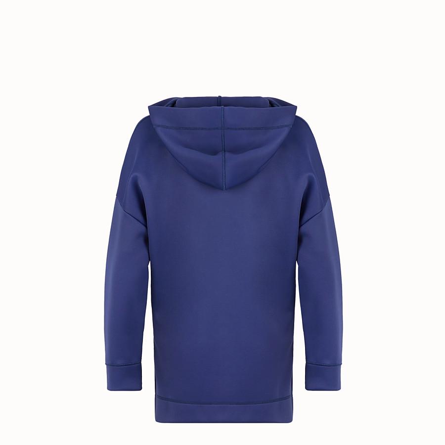 FENDI スウェットシャツ - ブルーコットン スウェットシャツ - view 2 detail