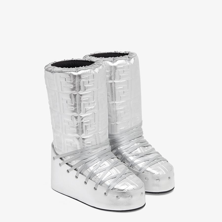 FENDI SKI BOOT - Fendi Prints On leather boots - view 4 detail