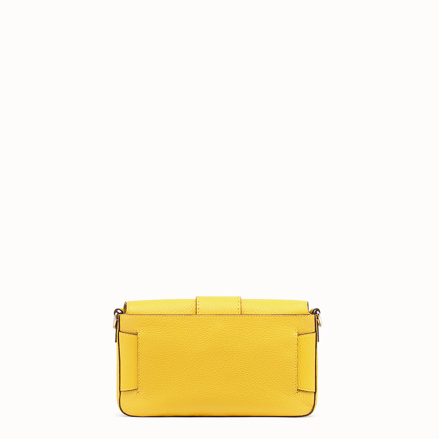 FENDI BAGUETTE - Yellow leather bag - view 4 detail