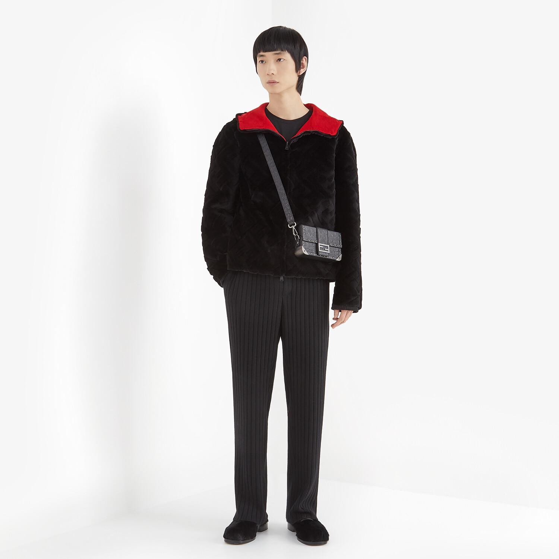 FENDI JACKET - Black mink jacket - view 5 detail