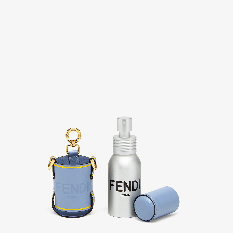 FENDI DISPENSER HOLDER - Light blue leather dispenser holder - view 2 detail