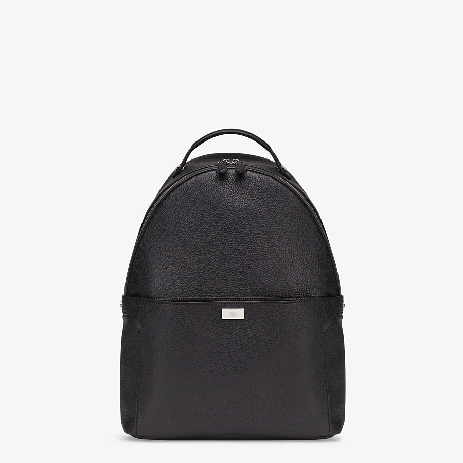 FENDI PEEKABOO BACKPACK - Black leather backpack - view 2 detail