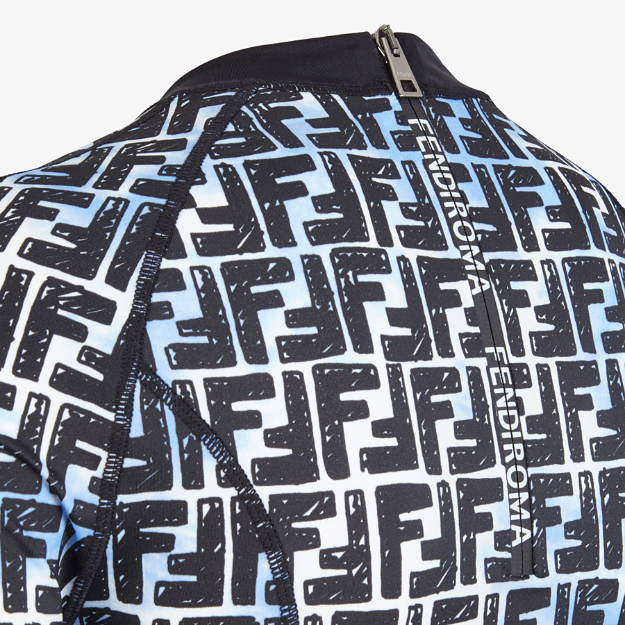 FENDI T-SHIRT - Fendi Roma Joshua Vides jersey top - view 3 detail