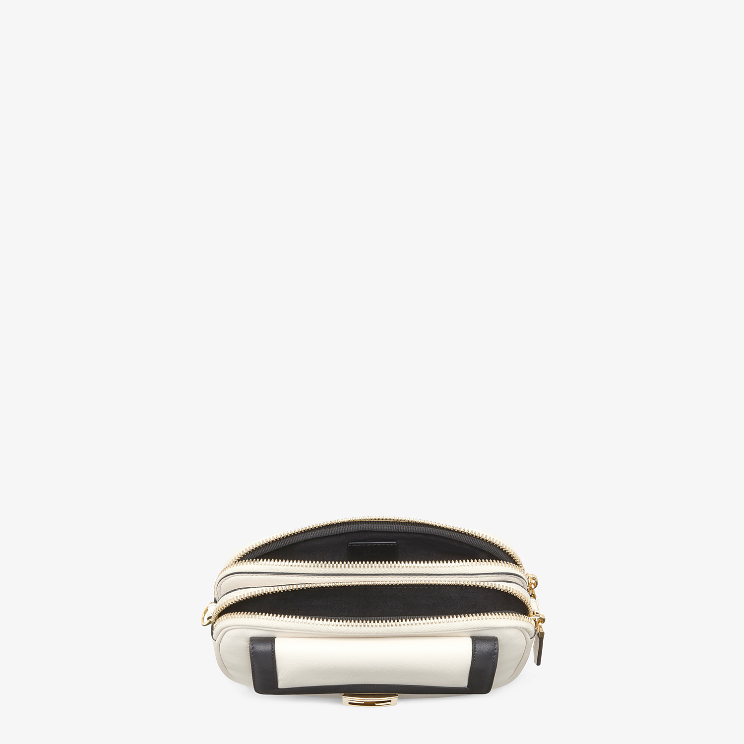 FENDI EASY 2 BAGUETTE - White leather mini bag - view 5 detail