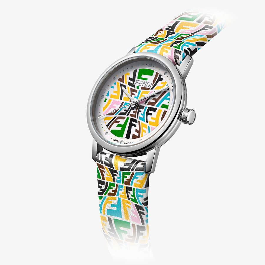 FENDI FOREVER FENDI - 29 MM - Watch with printed FF pattern - view 3 detail