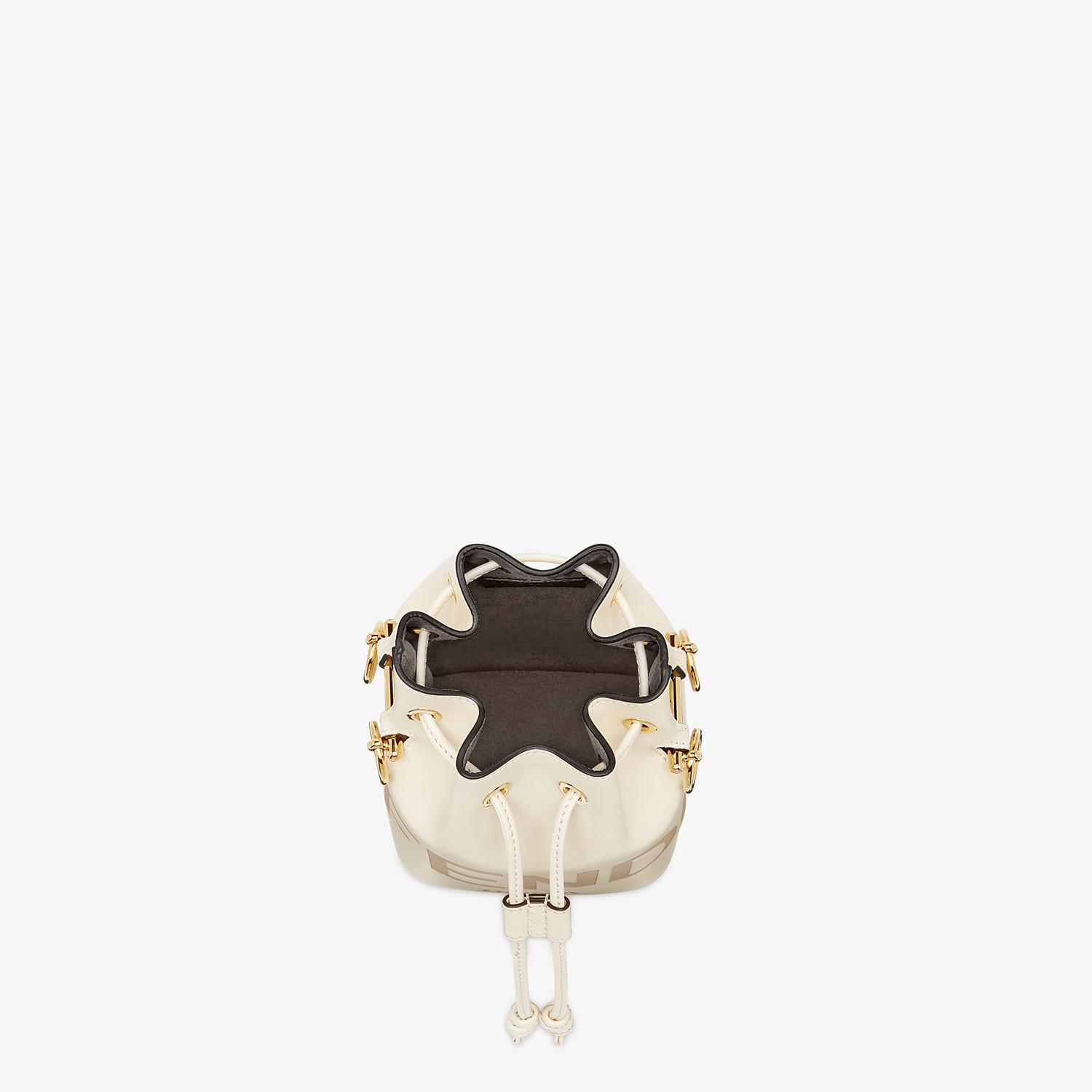 FENDI MON TRESOR - White leather mini-bag - view 5 detail