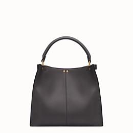 FENDI PEEKABOO X-LITE MEDIUM - Black leather bag - view 4 thumbnail