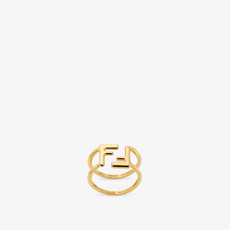 FENDI FF RINGE - Ringe in Goldfarbe - view 1 detail
