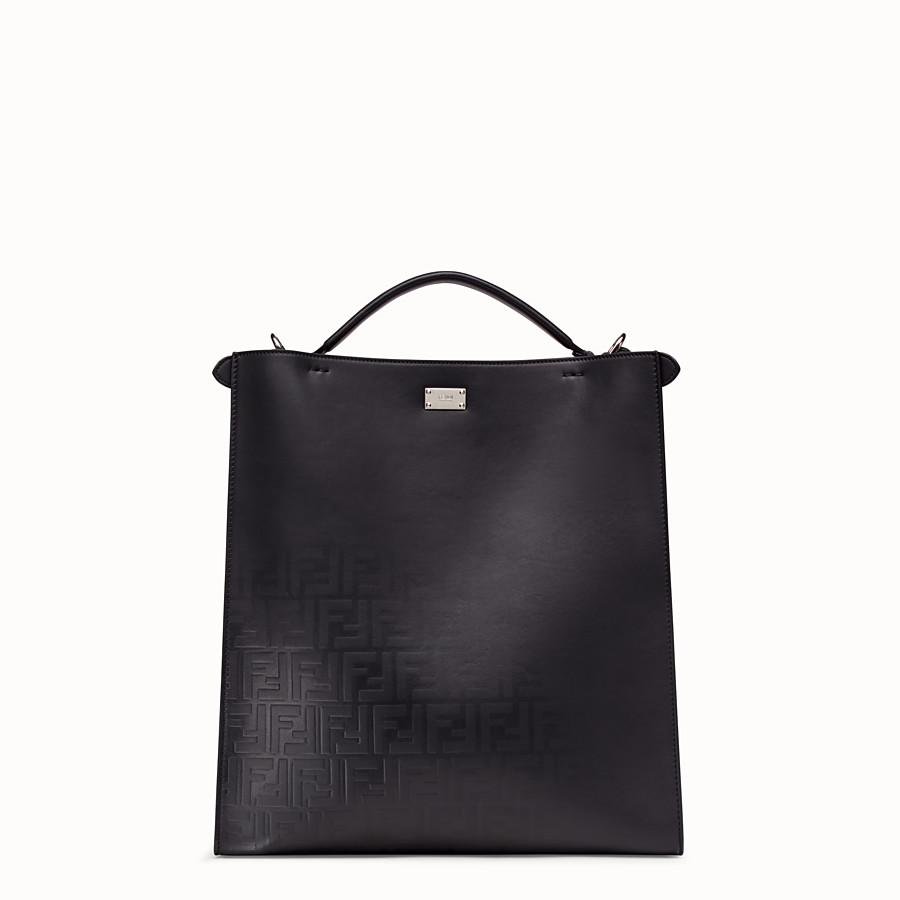 FENDI PEEKABOO X-LITE FIT - Black, calf leather bag - view 4 detail