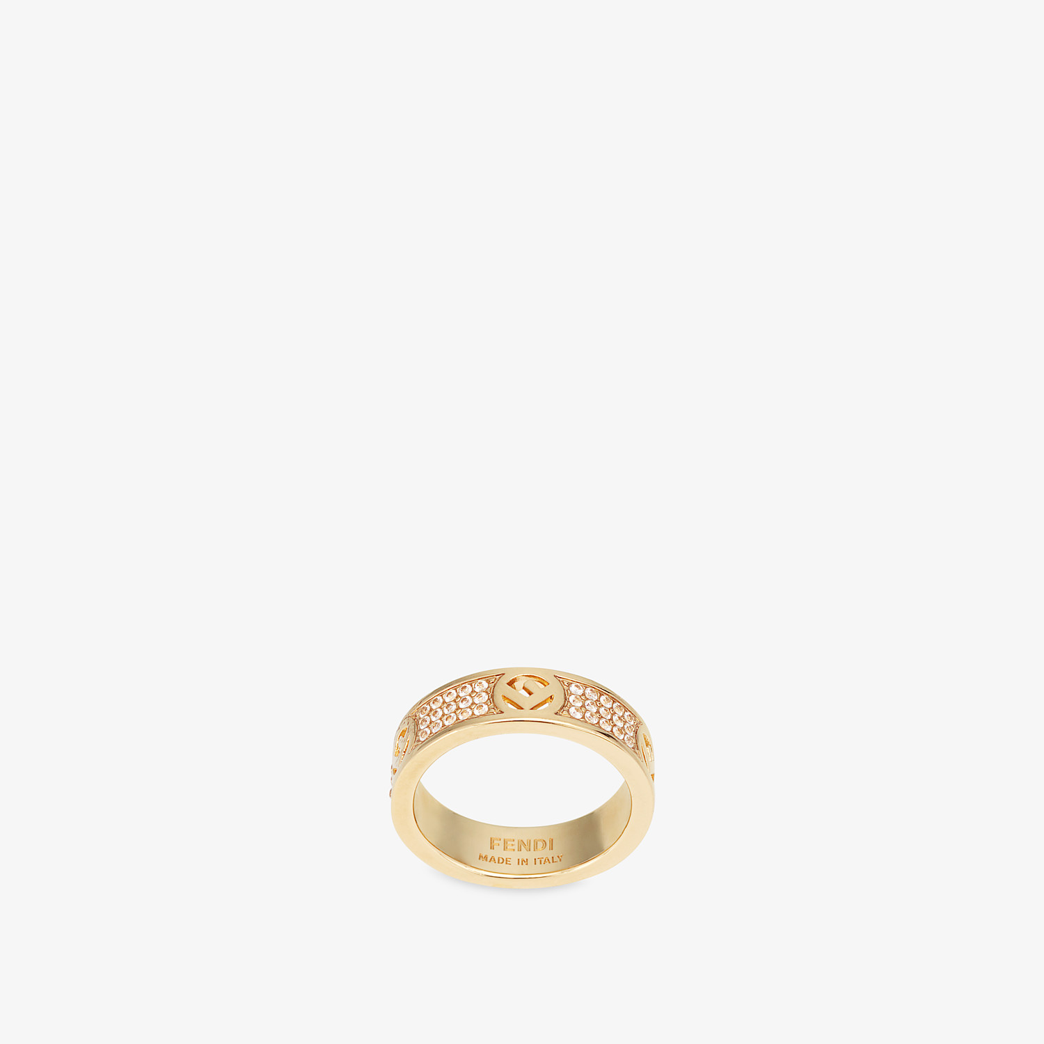 FENDI F IS FENDI RING - Gold-color ring - view 1 detail