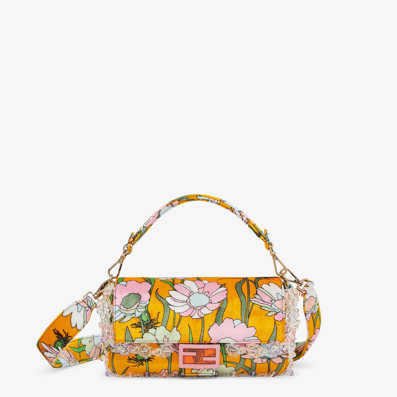 FENDI BAGUETTE - Bag in multicolor chenille - view 1 detail