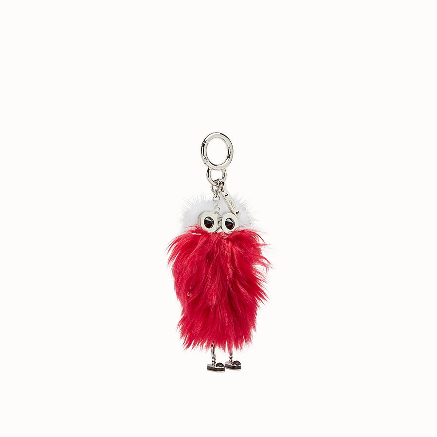 FENDI TEEN WITCHES CHARM - Raspberry red alpaca charm - view 1 detail