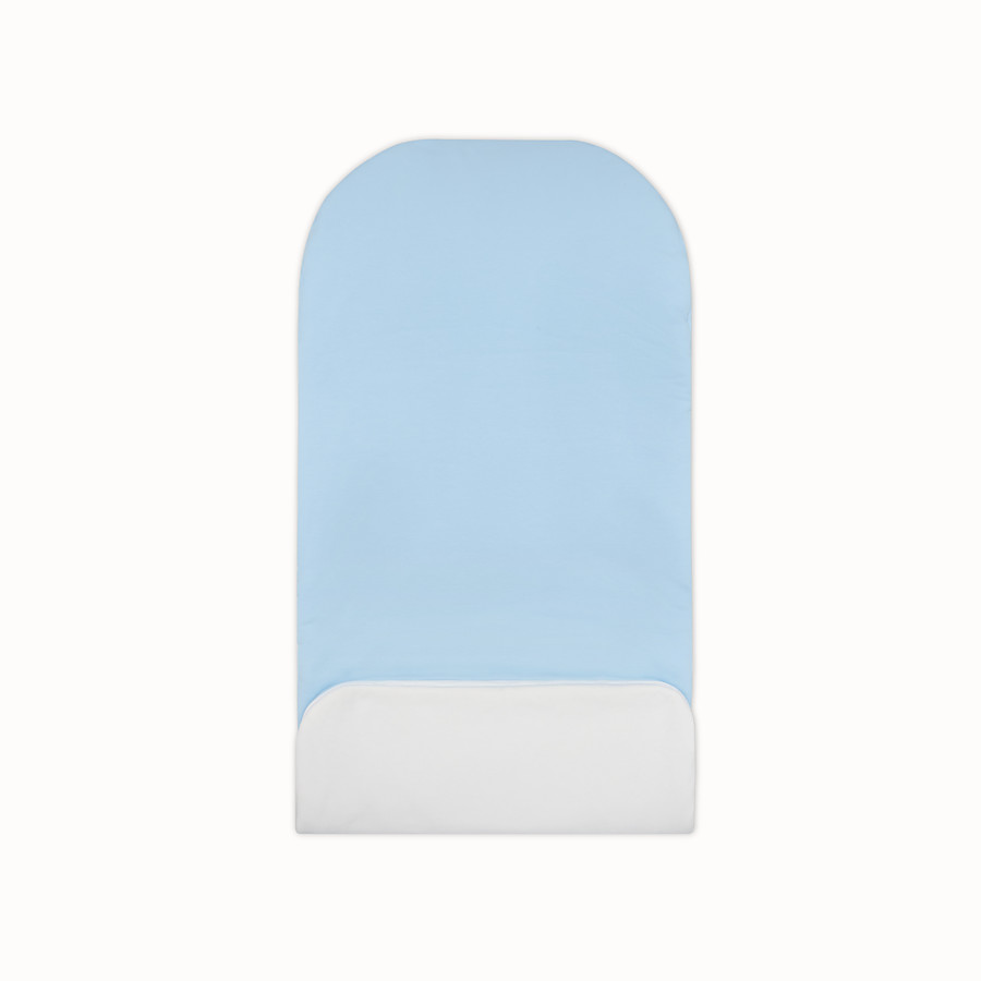 FENDI SLEEPING BAG - Light blue cotton sleeping bag - view 2 detail