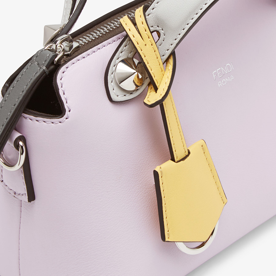 FENDI BY THE WAY MINI - Multicolor leather Boston bag - view 5 detail