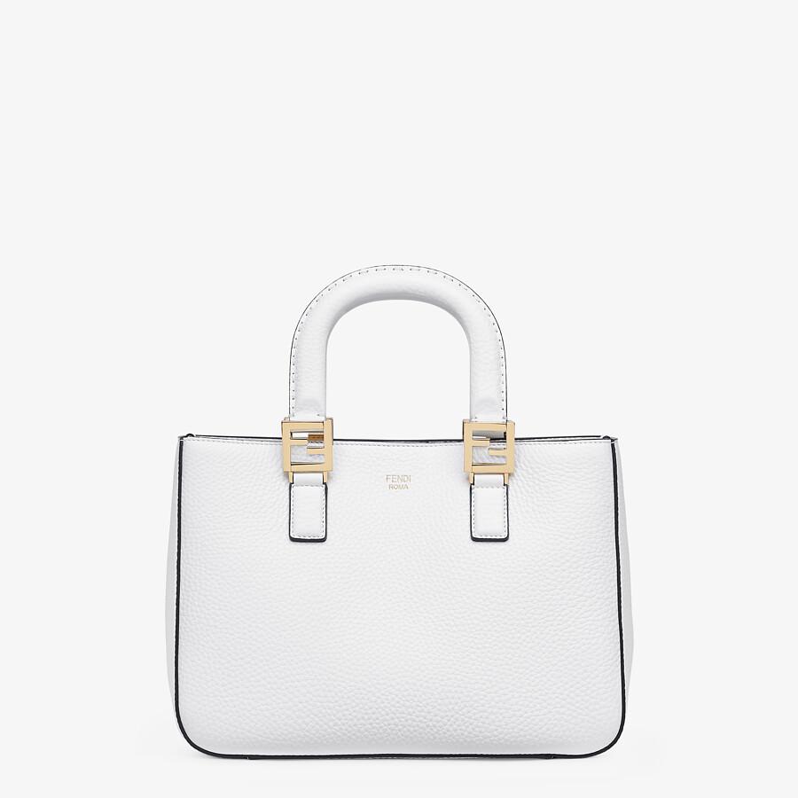 FENDI FF TOTE SMALL - Cuoio Romano leather bag - view 1 detail