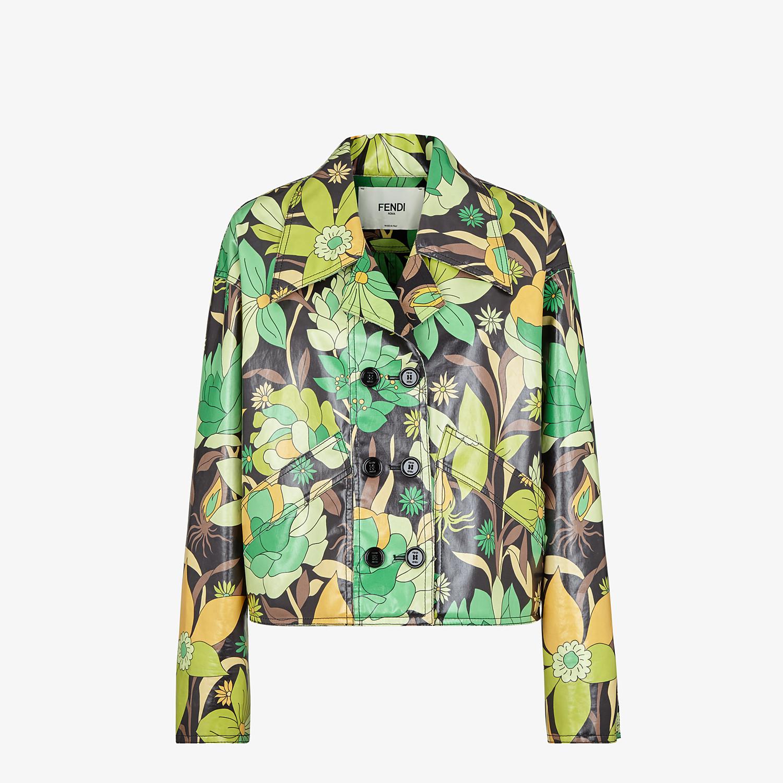 FENDI JACKET - Multicolour cotton jacket - view 1 detail