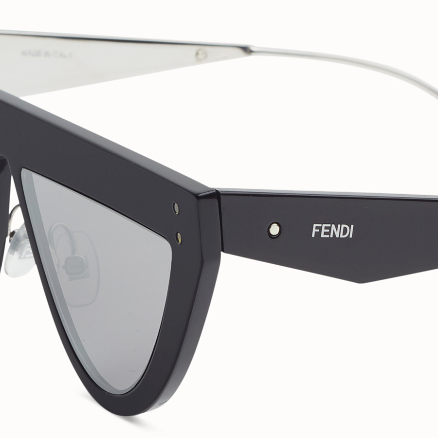 FENDI DEFENDER - Black sunglasses - view 3 detail