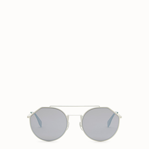 FENDI EYELINE - White sunglasses - view 1 small thumbnail
