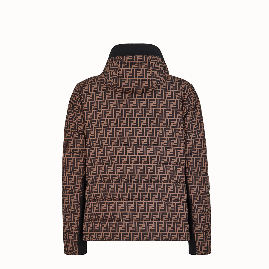 FENDI BLOUSON JACKET - Multicolour tech fabric jumper - view 2 detail