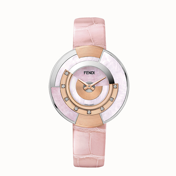 FENDI POLICROMIA - 33 mm - Watch with diamonds and genuine stones - view 1 small thumbnail
