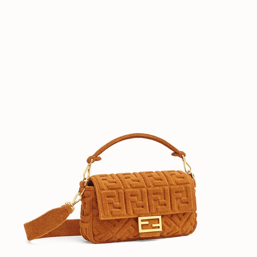 FENDI BAGUETTE - Brown terry bag - view 2 detail