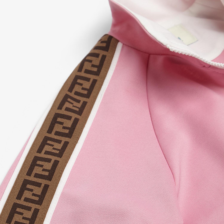 FENDI JUNIOR SWEATSHIRT - Tech fabric junior sweatshirt - view 3 detail