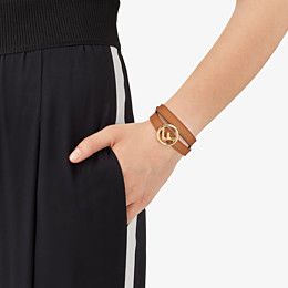 FENDI F IS FENDI BRACELET - Brown bracelet - view 2 thumbnail