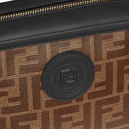 FENDI CAMERA CASE - Tasche aus Stoff in Braun - view 6 thumbnail