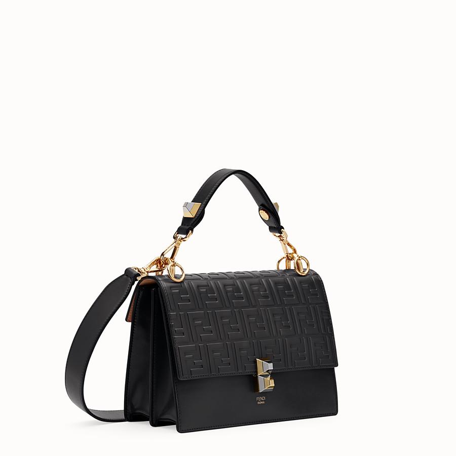 FENDI KAN I - Black leather bag - view 2 detail