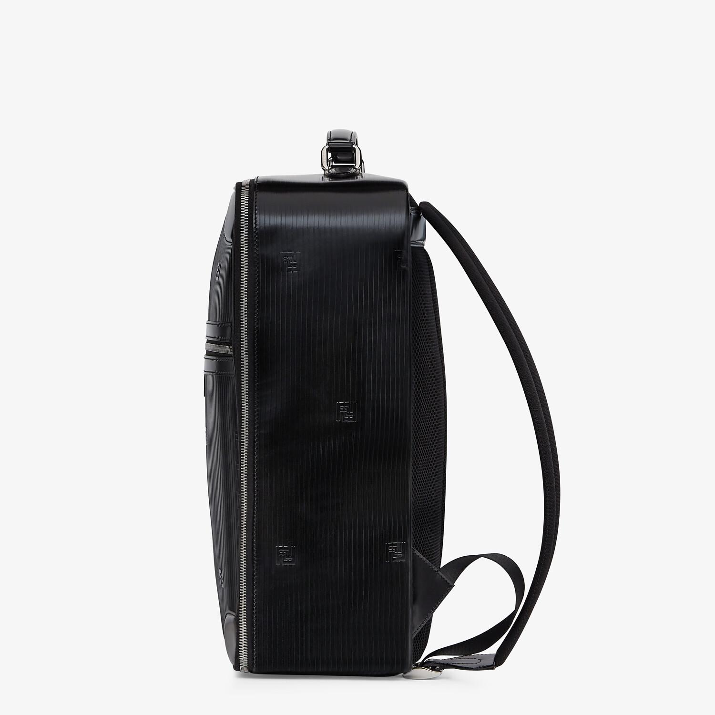 FENDI TRAVEL BACKPACK - Black leather backpack - view 2 detail