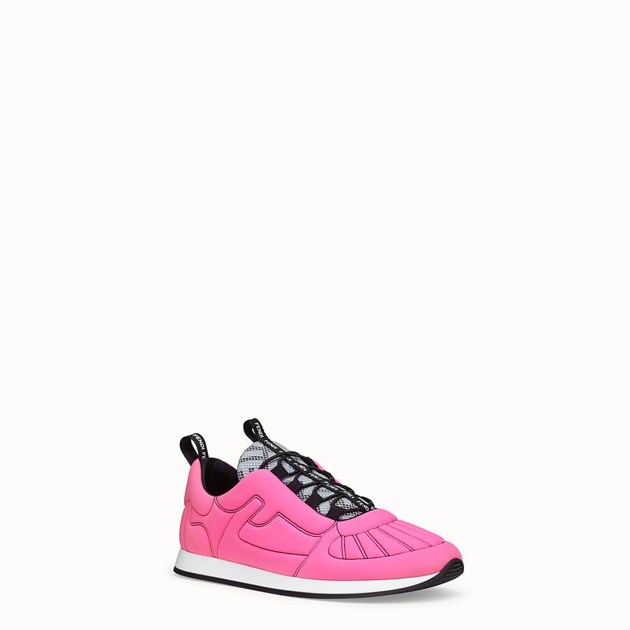 FENDI SNEAKER - Sneaker Fendi Roma Amor in Lycra® - vista 2 dettaglio