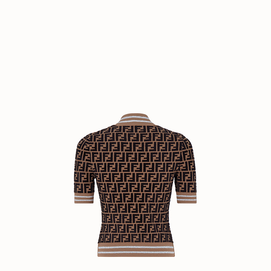 FENDI PULLOVER - Fendi Prints On viscose jumper - view 2 detail