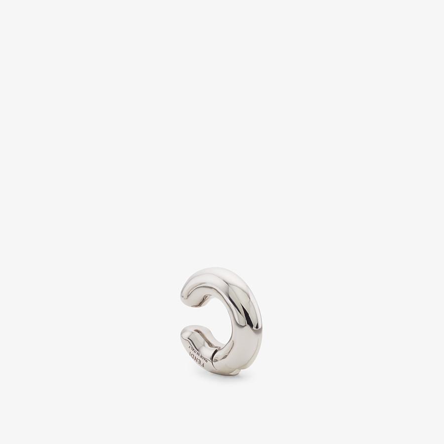 FENDI FENDIOOPS EARRING - Palladium-coloured earrings - view 1 detail